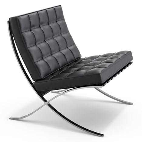 Dezeen's A-Zdvent calendar: Barcelona Chair by Mies van der Rohe