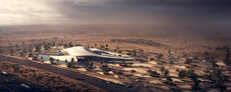 Bee'ah HQ by Zaha Hadid