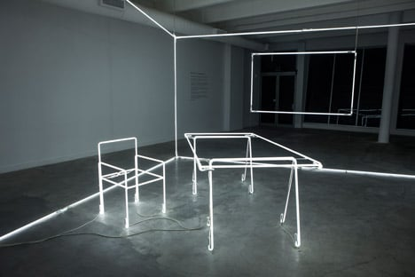Light installation by Massimo Uberti for Bentley