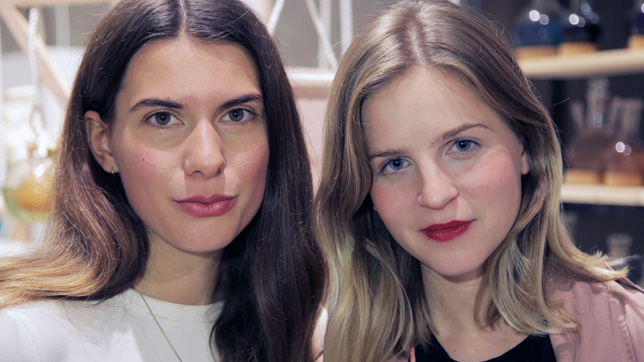 Essi Johanna Glomb and Rasa Weber of Blond and Bieber