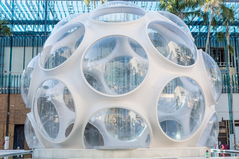 Buckminster Fuller's Fly's Eye Dome