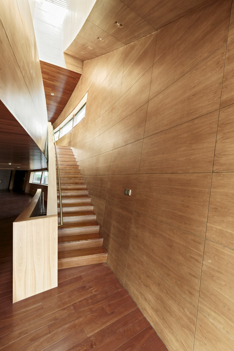 CIPEA Villa in Nanjing by Sanaksenaho Architects