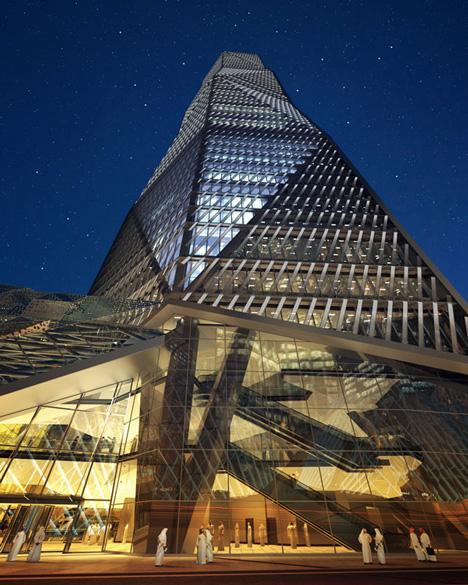 Capital Market Authority Tower, Saudi Arabia, by HOK and Omrania & Associates