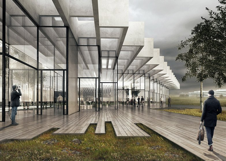 COBE designs new flagship building for Adidas