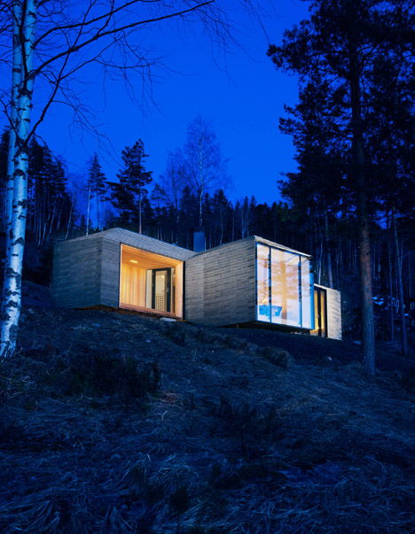 Cabin at Norderhov by Atelier Oslo
