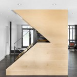 Naturehumaine add maple and steel staircase to 1960s house