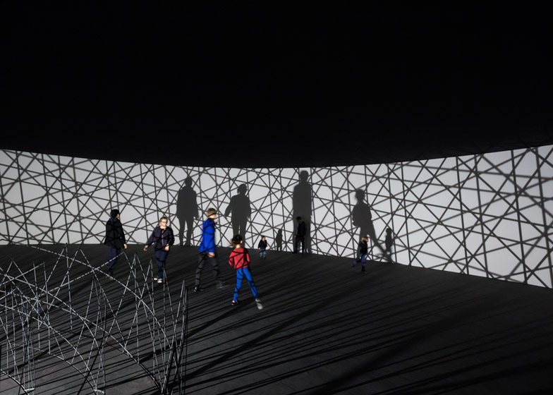 Contact at Fondation Louis Vuitton by Olafur Eliasson