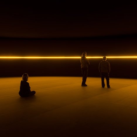 Olafur Eliasson's immersive light installations inhabit Gehry's Fondation Louis Vuitton