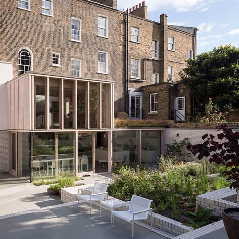 "East London home by Mikhail Riches is ""a big house that's been knitted back together"""