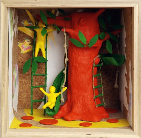 Into the Trees Playroom by Pantxika Ospital of Jentil