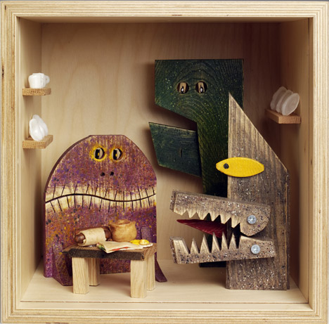 Monsters in the Pantry by Peter Marigold