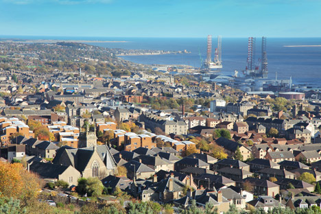 Dundee. Image courtesy of Shutterstock