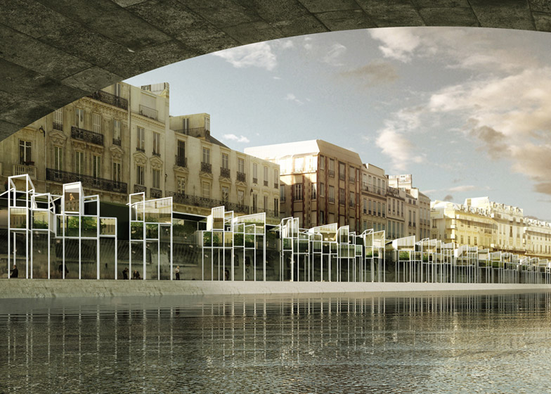 Eauberge Paris Capsule Hotel by Menomenopiu Architects