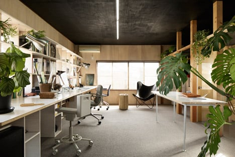 Enzo Office Gallery by Ogawa Sekkei