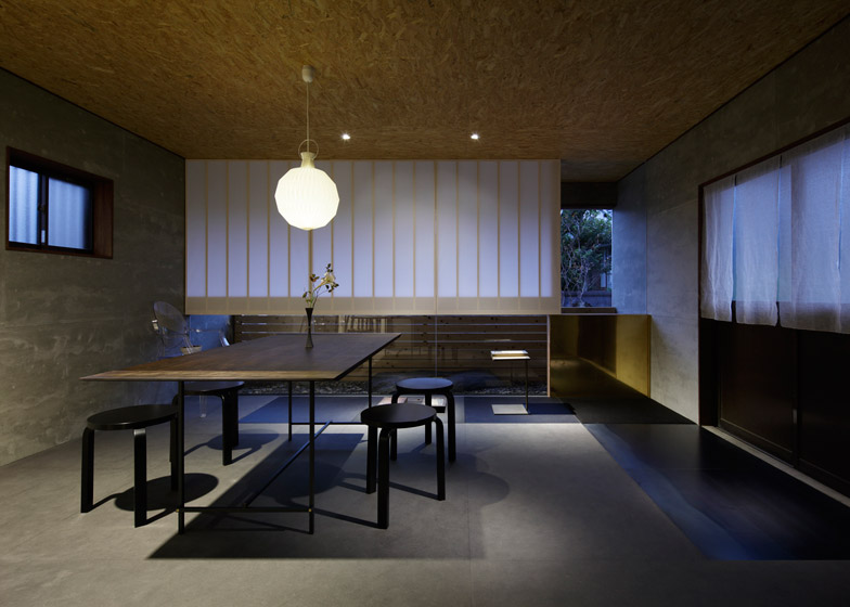 Ogawa sekkei converts house to landscape architecture studio