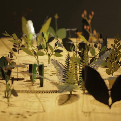 Ephemerā installation by Mischer'Traxler at Design Miami