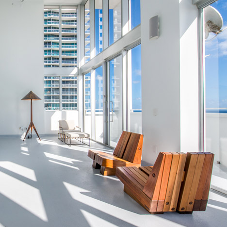 Espasso showcases Brazilian furniture design at Miami's The Shore Club