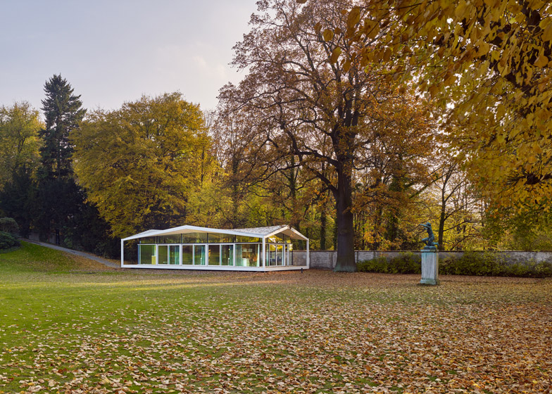 Fellows Pavilion for the American Academy in Berlin by Barkow Leibinger