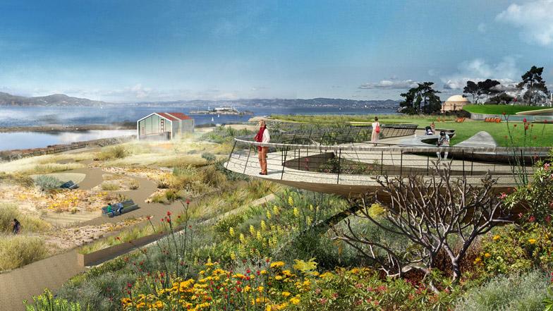 Field Operations to design Presidio Parklands