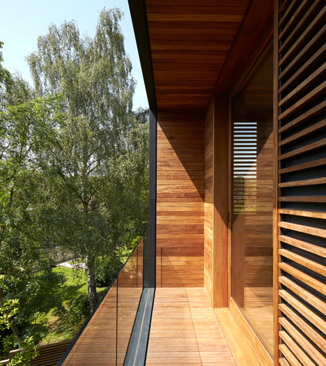 Fitzroy Park House by Stanton Williams