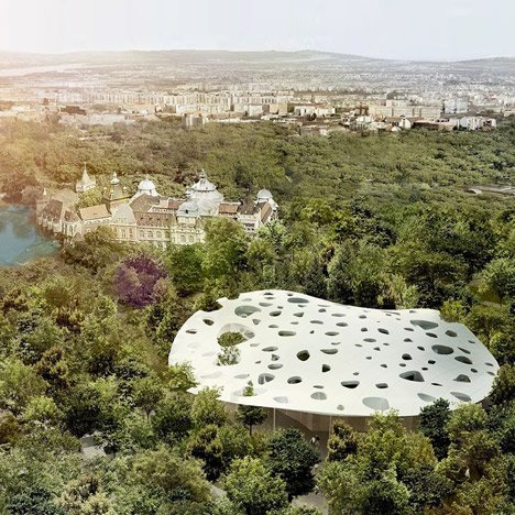 Sou Fujimoto to create House of Hungarian Music at new Budapest museum park