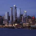 First residential tower underway at Hudson Yards