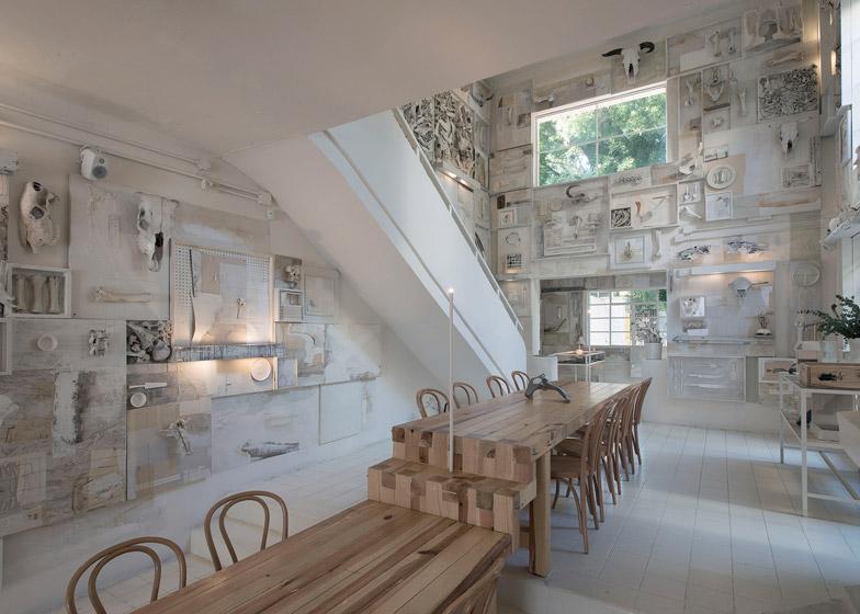 Hueso Restaurant by Ignacio Cadena at Cadena+Asociados Concept Design