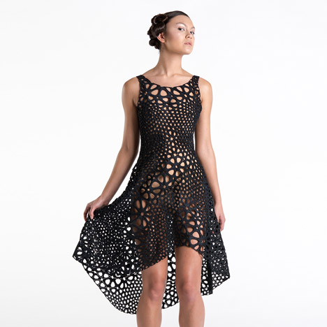 Kinematics dress by Nervous System