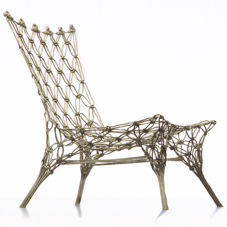 Dezeen's A-Zdvent calendar: Knotted Chair by Marcel Wanders