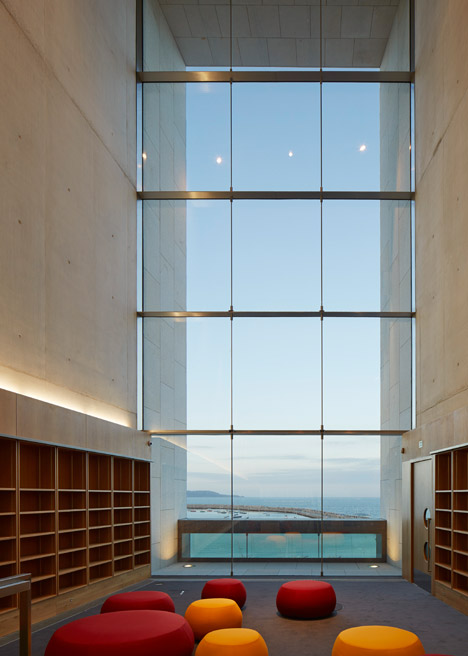 Library in Dún Laoghaire, Ireland by Carr Cotter Naessens