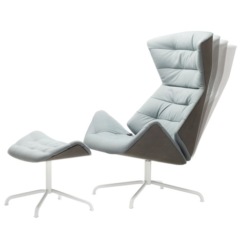 Lounge Chair 808 by Formstelle for Thonet