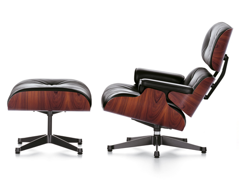 charles eames lounge chair & ottoman 2