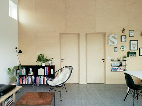 Low Cost House in Copenhagen by Sigurd Larsen Design & Architecture