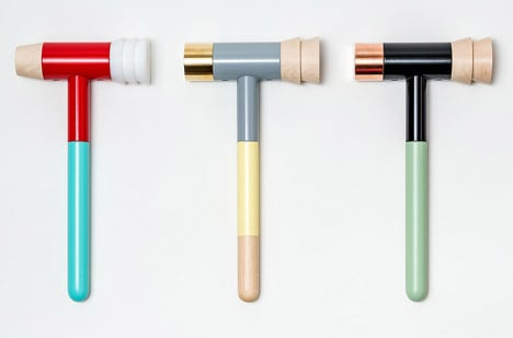 mallets for the shop at the newly reopened Cooper Hewitt Smithsonian Design Museum