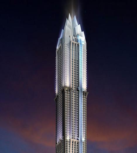 Marina 101, United Arab Emirates, by National Engineering Bureau
