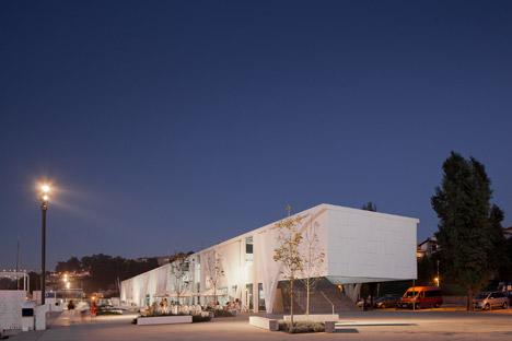 Marina Douro in Vila Nova de Gaia, Portugal by Barbosa & Guimaraes Architects