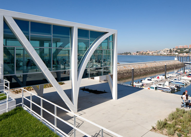 Marina Douro in Vila Nova de Gaia, Portugal by Barbosa & Guimaraes Architects