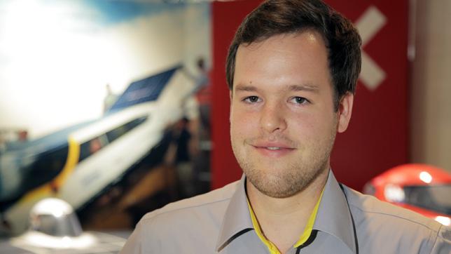Martijn Lammers of Solar Team Eindhoven
