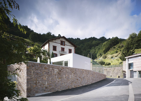 Mining and metallurgy heritage centre and cafe in Banca by V2S architectes