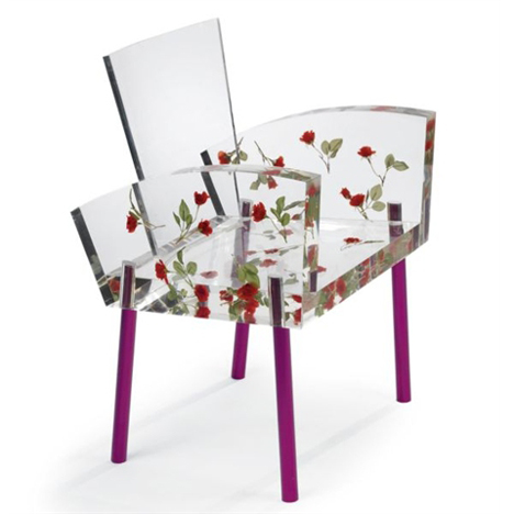 Miss Blanche Chair by Shiro Kuramata