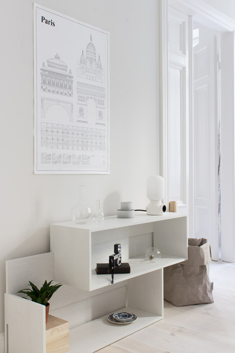 New Tendency apartment by Sarah Van Peteghem of Coco Lapine Design