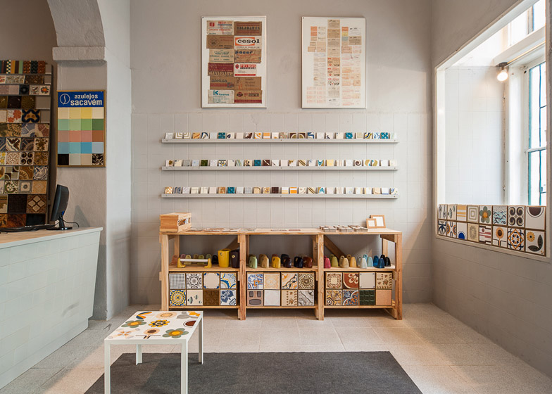 New store in Lisbon continues a family business by Cortiço & Netos