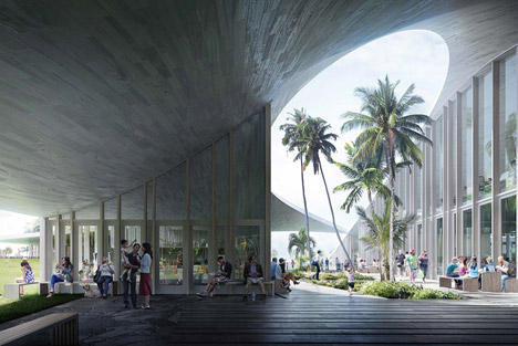 Obama-Library-Hawaii-proposal-by-Allied-Works_dezeen_468_2