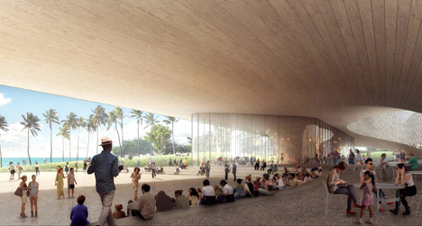 Obama-Library-Hawaii-proposal-by-Snohetta-and-WCIT_dezeen_468_0
