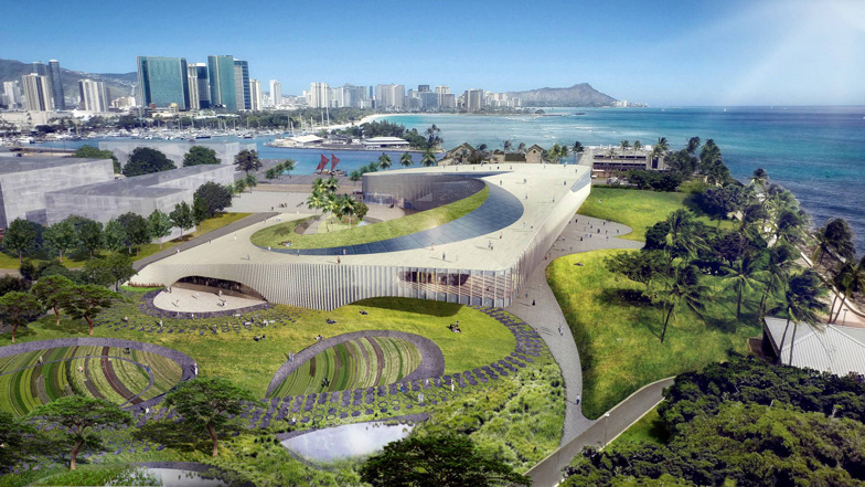 Obama Library Hawaii proposal by Snohetta and WCIT_dezeen_ban