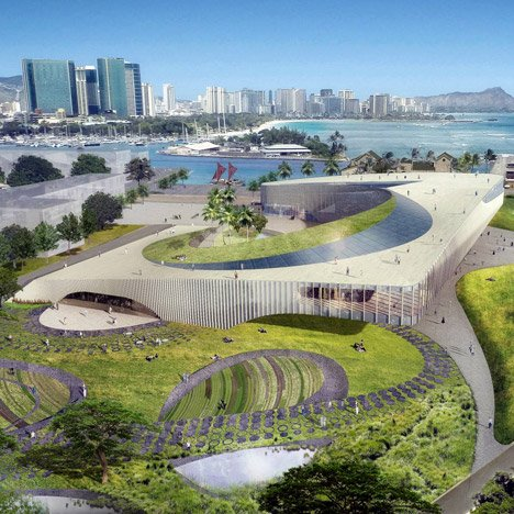 Hawaii unveils designs for Obama Presidential Centre bid
