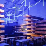 Olson Kundig Architects based Design Miami lounge on historic lumber yards