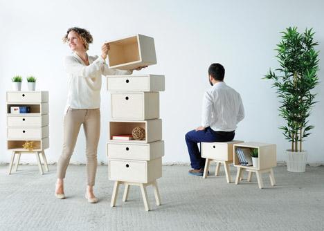 Otura cabinets by Rianne Koens
