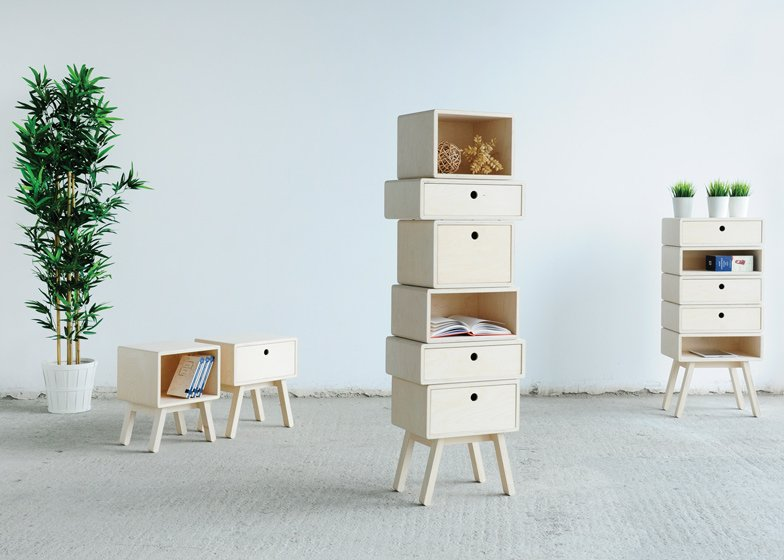 Otura cabinets by Rianne Koens