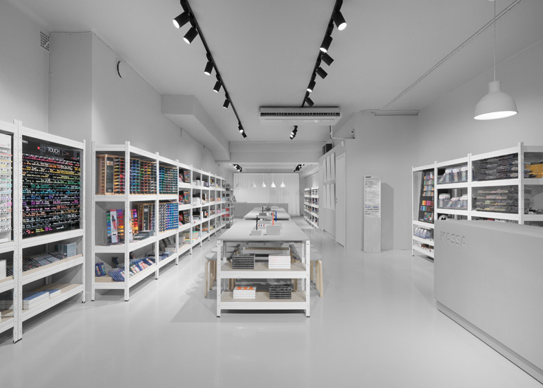 Pen Store in Stockholm by Form Us With Love